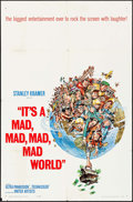 """Movie Posters:Comedy, It's a Mad, Mad, Mad, Mad World (United Artists, 1963). One Sheet(27"""" X 41"""") Jack Davis Artwork. Comedy.. ..."""