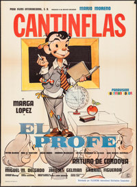 """The Professor (Columbia, 1971). Mexican One Sheet (27"""" X 37""""). Foreign"""
