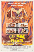 "Movie Posters:Exploitation, Carthage in Flames & Other Lot (Columbia, 1961). One Sheets (2) (27"" X 41""). Exploitation.. ... (Total: 2 Items)"