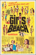 """Movie Posters:Rock and Roll, The Girls on the Beach & Other Lot (Paramount, 1965). Folded,Very Fine. One Sheets (2) (27"""" X 41""""). Rock and Roll."""