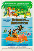 "Movie Posters:Animation, Bedknobs and Broomsticks & Others Lot (Buena Vista, 1971). One Sheets (2) (27"" X 41"") & Uncut Pressbooks (2) (Multiple Pages... (Total: 4 Items)"