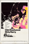 """Movie Posters:Crime, Dirty Harry (Warner Brothers, 1971). One Sheet (27"""" X 41""""). Crime....."""