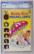 Bronze Age (1970-1979):Cartoon Character, Richie Rich Dollars and Cents #43 File Copy (Harvey, 1971) CGCNM/MT 9.8 Off-white to white pages....