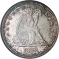 Seated Quarters, 1885 25C MS66 NGC....