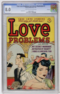 Golden Age (1938-1955):Romance, True Love Problems and Advice Illustrated #7 File Copy (Harvey,1951) CGC VF 8.0 Light tan to off-white pages....