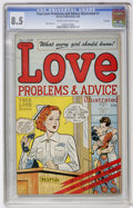 Golden Age (1938-1955):Romance, True Love Problems and Advice Illustrated #1 File Copy (Harvey,1949) CGC VF+ 8.5 Cream to off-white pages....