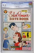Silver Age (1956-1969):Romance, Hi-School Romance Datebook #2 File Copy (Harvey, 1963) CGC NM- 9.2Cream to off-white pages....