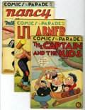 Golden Age (1938-1955):Miscellaneous, Comics On Parade Group (United Features Syndicate, 1944-50) Condition: Average VG+.... (Total: 12 Comic Books)