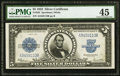 Large Size:Silver Certificates, Fr. 282 $5 1923 Silver Certificate PMG Choice Extremely Fine 45.....