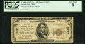 National Bank Notes:Michigan, Royal Oak, MI - $5 1929 Ty. 1 The First NB Ch. # 12657. ...