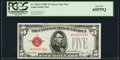Small Size:Legal Tender Notes, Fr. 1531* $5 1928F Narrow Legal Tender Note. PCGS Gem New 65PPQ.. ...