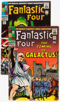 Silver Age (1956-1969):Superhero, Fantastic Four #48 and 49 Group (Marvel, 1966).... (Total: 2 Comic Books)