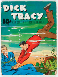 Large Feature Comic #13 Dick Tracy (Dell, 1940) Condition: GD