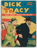 Golden Age (1938-1955):Cartoon Character, Large Feature Comic #1 Dick Tracy (Dell, 1939) Condition: FR....