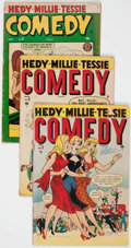 Golden Age (1938-1955):Humor, Comedy Comics Group of 4 (Timely, 1948-50) Condition: Average VG-.... (Total: 4 Comic Books)