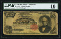 Large Size:Silver Certificates, Fr. 331 $50 1891 Silver Certificate PMG Very Good 10.. ...