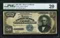 Large Size:Silver Certificates, Fr. 335 $50 1891 Silver Certificate PMG Very Fine 20.. ...