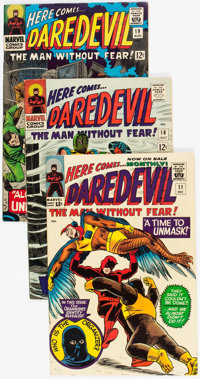 Daredevil Group of 10 (Marvel, 1965-68) Condition: Average VG+.... (Total: 10 Comic Books)