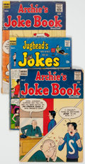 Bronze Age (1970-1979):Humor, Archie's Joke Book Magazine and Jughead's Jokes Short Box Group (Archie, 1960s-80s) Condition: Average GD....