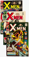 Silver Age (1956-1969):Superhero, X-Men Group of 6 (Marvel, 1967-68) Condition: Average FN/VF.... (Total: 6 Comic Books)