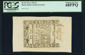 Colonial Notes:Rhode Island, Rhode Island May 1786 9d PCGS Superb Gem New 68PPQ.. ...