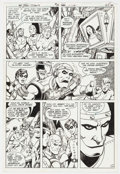 Original Comic Art:Panel Pages, George Pérez and Romeo Tanghal The New Teen Titans #13 Page 22 Original Art (DC, 1981)....