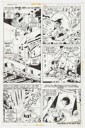 Original Comic Art:Panel Pages, Herb Trimpe and John Severin Incredible Hulk #154 Page 14Original Art (Marvel, 1972)....