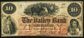 Obsoletes By State:New Hampshire, Hillsborough, NH- Valley Bank $10 Mar. 1, 1860. ...