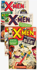 Silver Age (1956-1969):Superhero, X-Men Group of 16 (Marvel, 1964-71) Condition: Average VG.... (Total: 16 Comic Books)