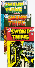 Bronze Age (1970-1979):Horror, Swamp Thing #7, 9, and 10 Multiple Copies Group (DC, 1973-74)Condition: Average VF.... (Total: 13 Comic Books)