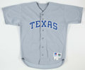 Baseball Collectibles:Uniforms, 1992 Rafael Palmeiro Texas Rangers Game Worn Jersey.. ...