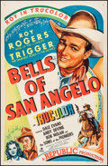 "Movie Posters:Western, Bells of San Angelo (Republic, 1947). One Sheet (27"" X 41""). Western.. ..."