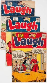 Laugh Comics Box Lot (Archie, 1958-87) Condition: Average GD
