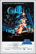 """Movie Posters:Science Fiction, Star Wars (20th Century Fox, R-1993). One Sheet (27"""" X 41"""") StyleB, Greg and Tim Hildebrandt Artwork. Science Fiction.. ..."""