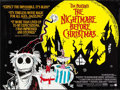 "Movie Posters:Animation, The Nightmare Before Christmas (Touchstone, 1994). British Quad (30"" X 40"") DS. Animation.. ..."