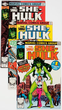 The Savage She-Hulk #1-25 Complete Series Group (Marvel, 1980-82) Condition: Average VF/NM.... (Total: 26 Comic Books)