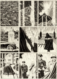 Brian Bolland Batman: The Killing Joke Story Page 1 Original Art (DC, 1988)