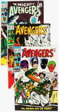 Silver Age (1956-1969):Superhero, The Avengers Group of 8 (Marvel, 1969) Condition: Average VF+.... (Total: 8 Comic Books)