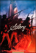 "Movie Posters:War, Glory (Tri-Star, 1989). One Sheet (26.75"" X 39.75"") SS Advance.War.. ..."