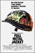 "Movie Posters:War, Full Metal Jacket (Warner Brothers, 1987). One Sheet (27"" X 41"") Advance, Phillip Castle Artwork. War.. ..."