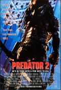 "Movie Posters:Science Fiction, Predator 2 (20th Century Fox, 1990). One Sheets (2) Identical (27""X 41"") DS Advance. Science Fiction.. ... (Total: 2 Items)"
