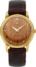 Timepieces:Wristwatch, Hamilton Very Rare 14k Gold Sherwood N Automatic, circa 1961. ...