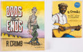 Books:Miscellaneous, Robert Crumb Related Books Group of 2 (Abrams/Signet, 2000s) Condition: Average NM-.... (Total: 2 Items)