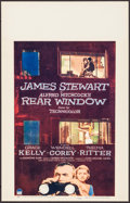 "Movie Posters:Hitchcock, Rear Window (Paramount, 1954). Window Card (14"" X 22""). Hitchcock....."