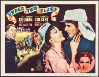 """Under Two Flags (20th Century Fox, 1936). Title Lobby Card (11"""" X 14""""). Adventure"""