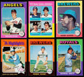 Baseball Cards:Sets, 1975 Topps Mini Baseball Complete Set (660). ...