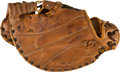 Baseball Collectibles:Others, Circa 1960 Gil Hodges Game Used Fielder's Glove, PSA/DNA Authentic. . ...