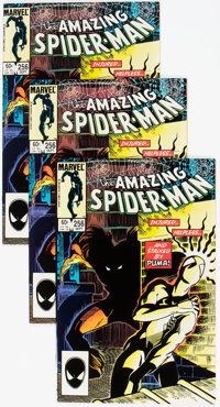 The Amazing Spider-Man #256 Group of 11 (Marvel, 1984) Condition: Average NM-.... (Total: 11 Comic Books)