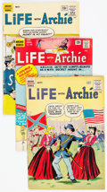 Silver Age (1956-1969):Humor, Life With Archie Short Box Group (Archie, 1961-91) Condition: Average GD....