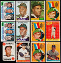 Baseball Cards:Lots, 1958 to 1982 Topps Baseball Star Card Collection (12). ...